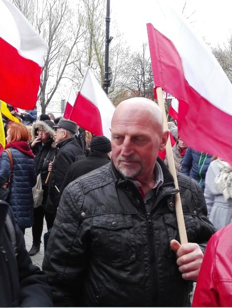 Ostatnie pożegnanie ś.p. Tadeusza Bronisza z Borkowa