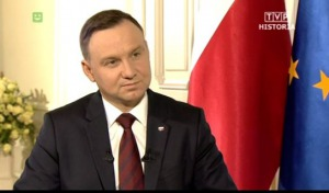 """Prezydent Duda: """"Ci, którzy są potomkami zdrajców, będą walczyli z prawdą historyczną"""""""