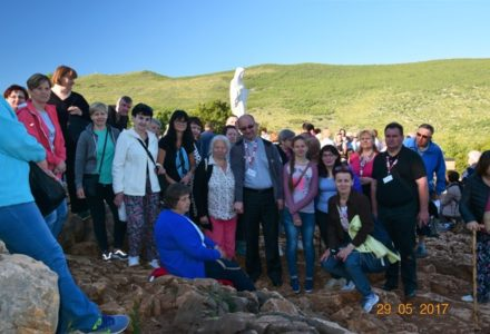 Góra śmiechu i morze łez wzruszenia – zakończyła się kolejna pielgrzymka do Medjugorje.