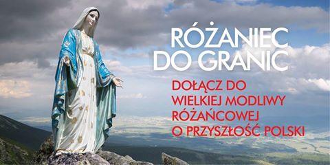 """""""Różaniec do granic"""" – zapraszamy na wyjazd Świerży k. Dorohuska nad Bugiem, sobota 7 października 2017 r."""