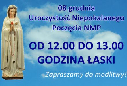 """""""Godzina Łaski"""" dla całego świata, 8 grudnia"""