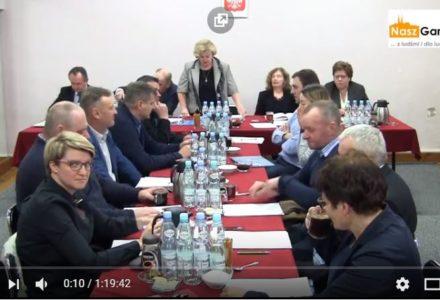 Sesja Rady Gminy Garbów – 29.12.2017 g. 12.00 [całość wideo]