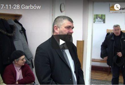 Sesja Rady Gminy Garbów – 28 listopada 2017 (wideo całość)