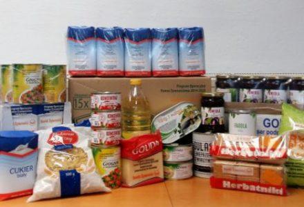 Ogłoszenie o wydawaniu żywności z POPŻ 2018 przez Stowarzyszenie Wspólnota Garbowska