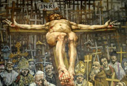 """""""Chcę, byś pełniła służbę przy Moim Sercu otwartym na Krzyżu…"""" [słowo na niedzielę]"""
