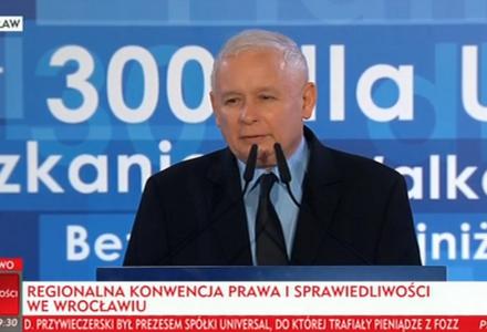 Jarosław Kaczyński we Wrocławiu: Dla Polski musimy wszystkie te wybory wygrać! Mamy świetnych kandydatów. Zwyciężymy!