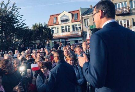 """Premier Morawiecki: """"Odeszliśmy od polityki, która wspierała głównie wielkie miasta"""""""