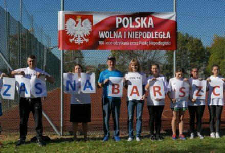 Czas na Barszcz na 100 lecie Niepodległej! Biegi przełajowe w Przybysławicach 2018
