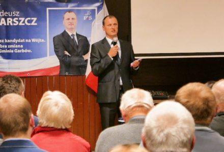 Prezentacja i wystąpienie Tadeusza Barszcza. Szykuje się dobra zmiana w Garbowie!!! 15 października 2018