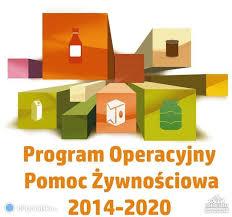 Ogłoszenie o wydawaniu żywności z POPŻ Podprogram 2018 przez Wspólnotę Garbowską