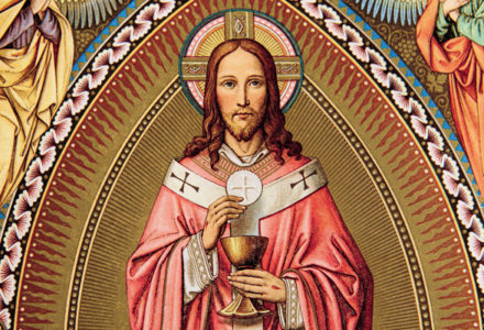 """""""Chrystus od początku znajduje się w centrum wiary i życia Kościoła."""" [słowo na niedzielę]"""