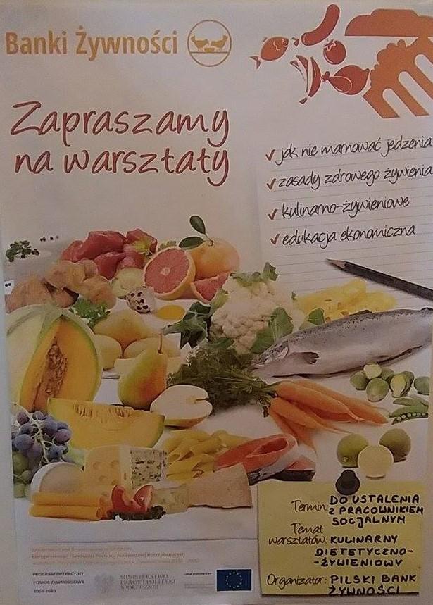 Bank Żywności w Lublinie i Stowarzyszenie Wspólnota Garbowska zaprasza na warsztaty kulinarne – Borków, poniedziałek 11 lutego 2019 r., godz 9.00