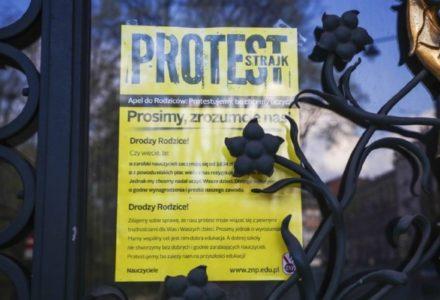 8 kwietnia 2019 – Rozpoczął się zorganizowany przez ZNP i FZZ strajk nauczycieli