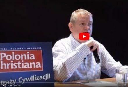"""Prof. Marek Chodakiewicz – """"Jak zatrzymać antykulturę totalitarnych mniejszości?"""""""