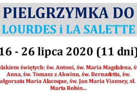 Pielgrzymka po południowej Francji – Lourdes, La Salette, Awinion, Paray-Le-Monial, Nevers, Ars, Tuluza, Ametystowe wybrzeże oraz Turyn i Padwa……. 16-26 lipca 2020 [zapisy]