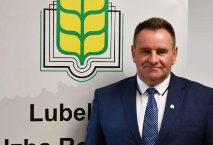 Gustaw Jędrejek Prezesem Lubelskiej Izby Rolniczej