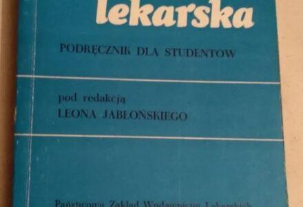 Co pisał prof. Leon Jabłoński o koronawirusach w podręcznikach dla studentów w roku 1973 oraz 1980?