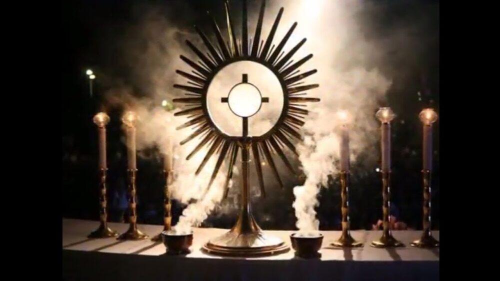 Całonocna Adoracja Najświętszego Sakramentu w Garbowie.